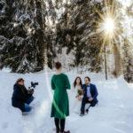 Winterhochzeit im Schwarzwald
